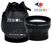 5518: ZEIKOS 2X 37MM Lens BLACK ZE-2X37B