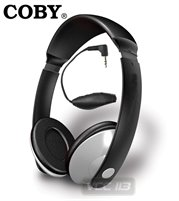 5626: COBY HEADPHONES DEEP BASS CV121