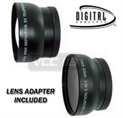 4103-A1--&--RING--3095-CANON-37MM: Black Wide-angle LENS + Telephoto FOR 52mm 37mm