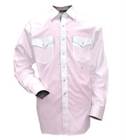 52773/PK/RMD: Walls Men's Western Performane Snap Oxford Long Sleeve Shirt Pink Medium