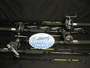 CLR-4PK20DX7'CTCOMBOS: 4PK OKUMA MAGDA PRO 20DX REELS 7&#39; MED CLASSIC PRO ROD TROLLING COMBOS