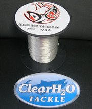 CLR-BLRUNSC45#3000': BLOOD RUN TACKLE SUPER COPPER 45# 3000' BULK SPOOL NICKEL PLATED 7 STRAND