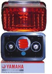 5KM-8472C-10-00: Yamaha Tail Light Lens Grizzly Big Bear Bruin Kodiak Wolverine Rhino