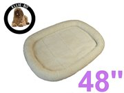EB-DB48W: Ellie-Bo Bedding for 48 inch XXL Dog Cage