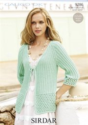 Crochet Sweater: Crochet Vest and Hat Set free pattern for Women