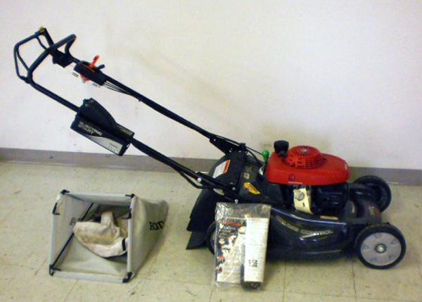 Honda lawnmower hrx217 Manual