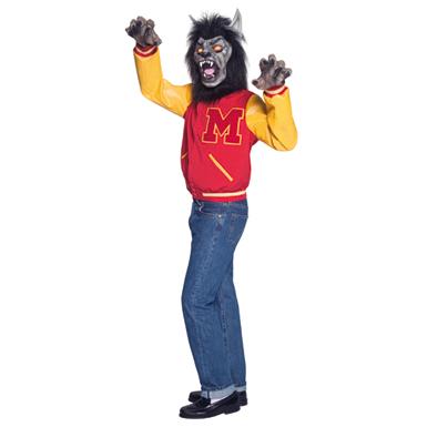 Michael Jackson Thriller Wolf Adult Halloween Costume