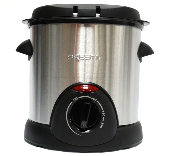 New Presto 05470 Stainless Steel Electric Deep Fryer